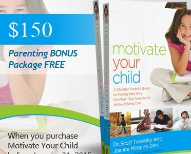Motivate Your Child PreOrder Info