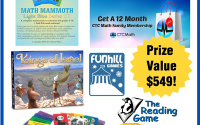 Homeschool Giveaway!